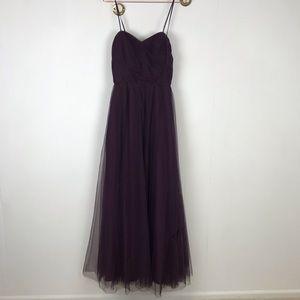 Watters & Watters Tulle Formal Bridesmaid Dress